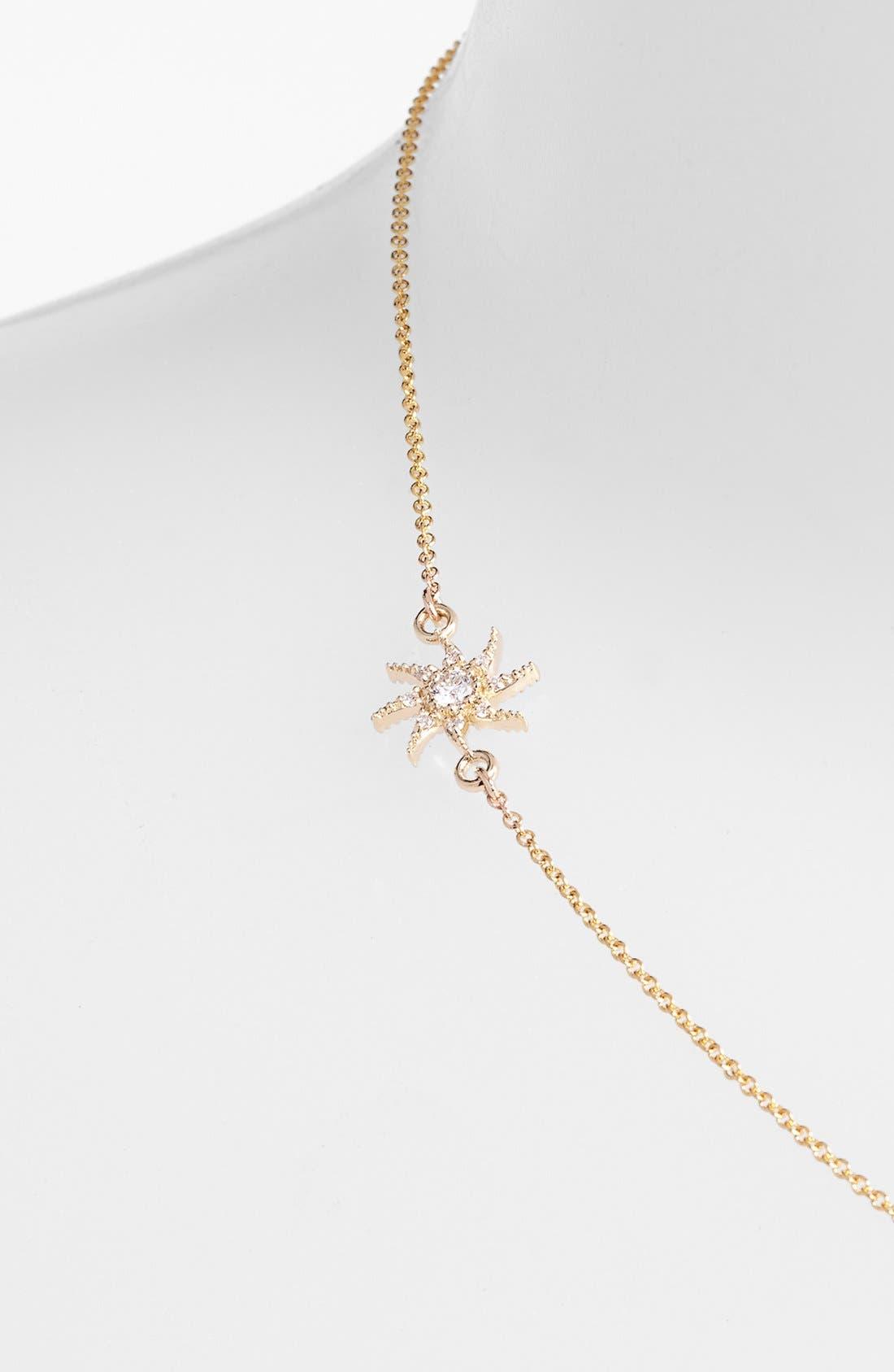 Alternate Image 2  - Mizuki 'Wings of Desire' Diamond Sun Station Necklace