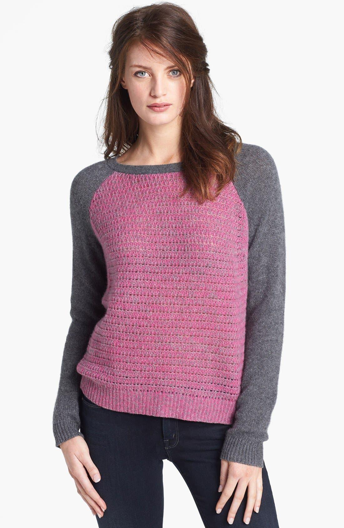 Alternate Image 1 Selected - Diane von Furstenberg 'Nanette' Cashmere Sweater