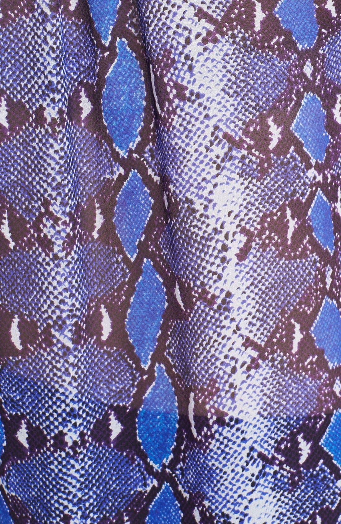 Alternate Image 3  - Diane von Furstenberg 'Lorelei' Print Silk Shirt