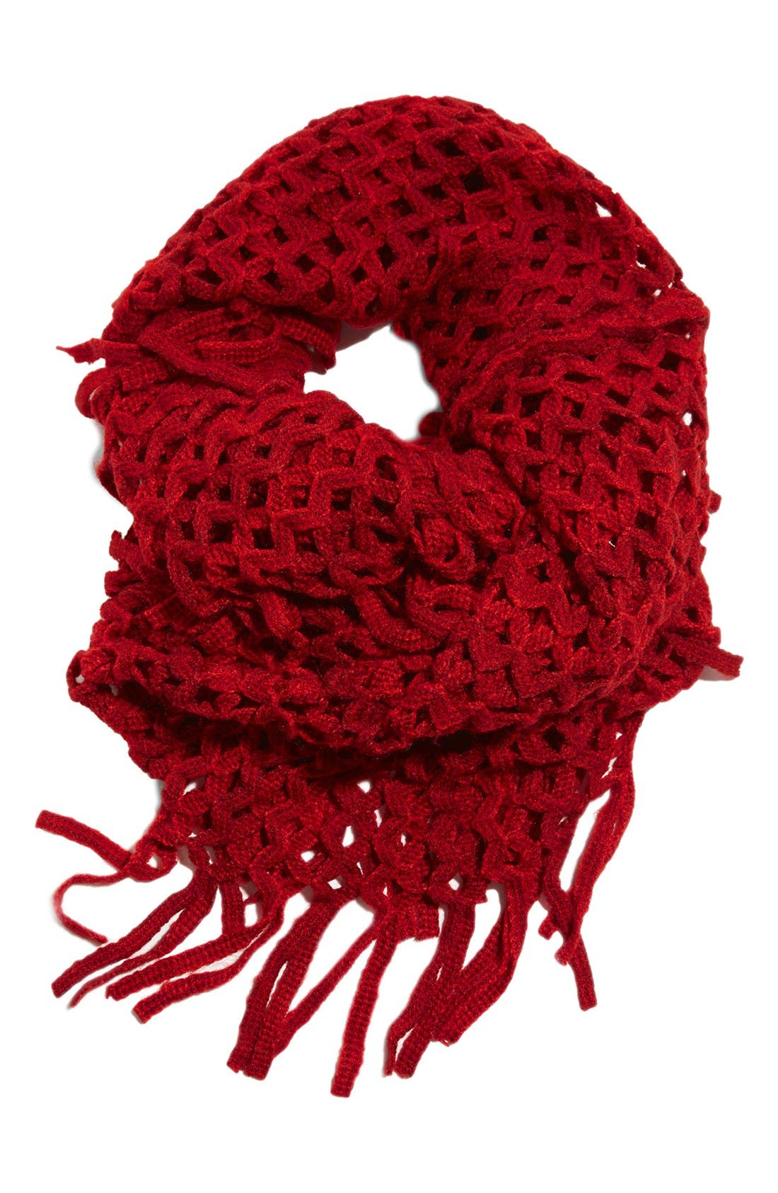 Alternate Image 1 Selected - Lucky Brand Crochet Infinity Scarf
