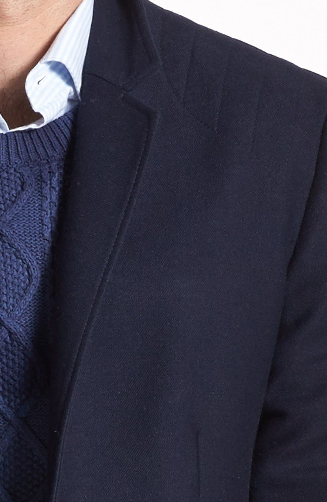 Alternate Image 2  - Edun Moto Stitch Sportcoat