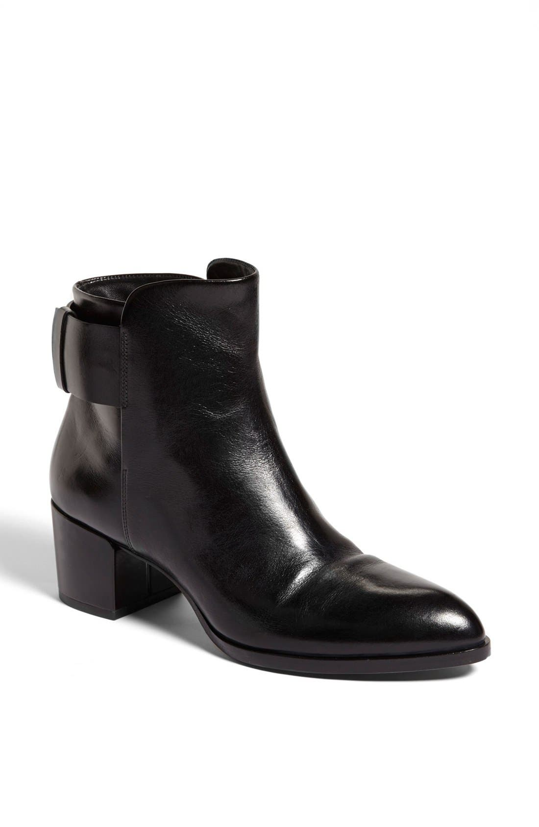 Alternate Image 1 Selected - Alexander Wang 'Anja' Calfskin Leather Ankle Boot