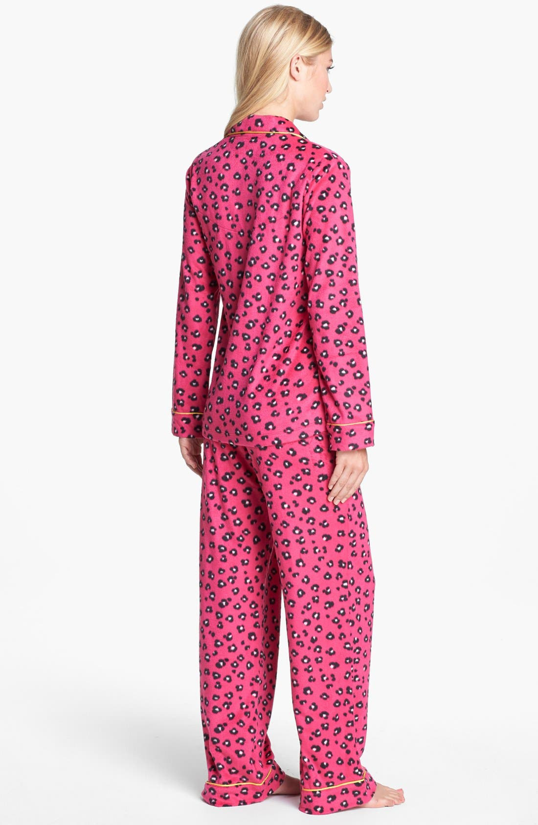 Alternate Image 2  - DKNY 'Wish List' Fleece Pajamas
