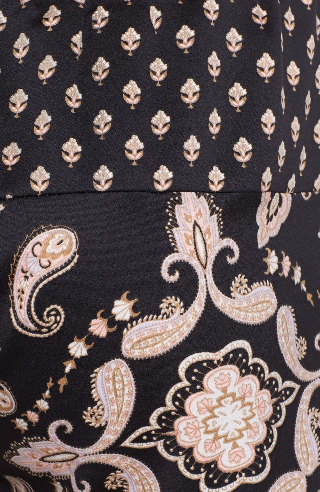 Alternate Image 3  - PJ Luxe 'Pieces of Paisley' Shorts