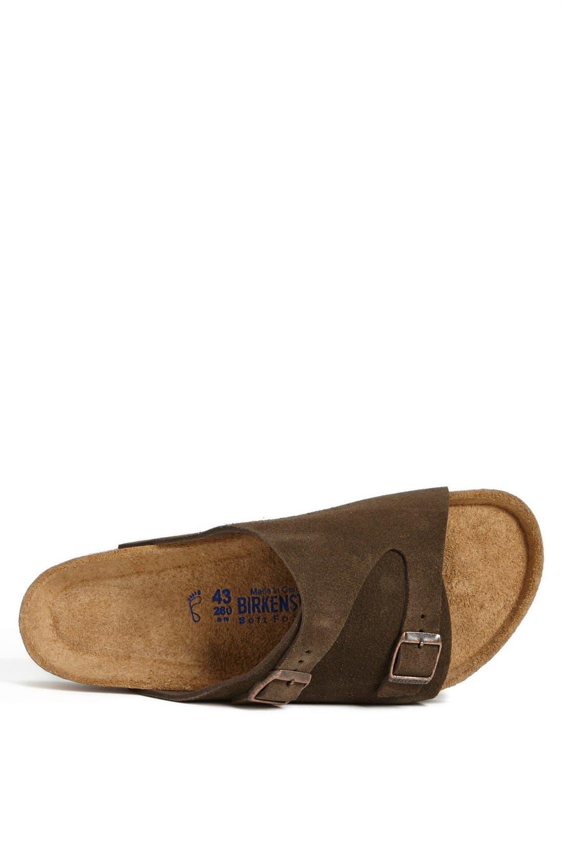 Alternate Image 3  - Birkenstock 'Zürich Soft' Sandal (Men)