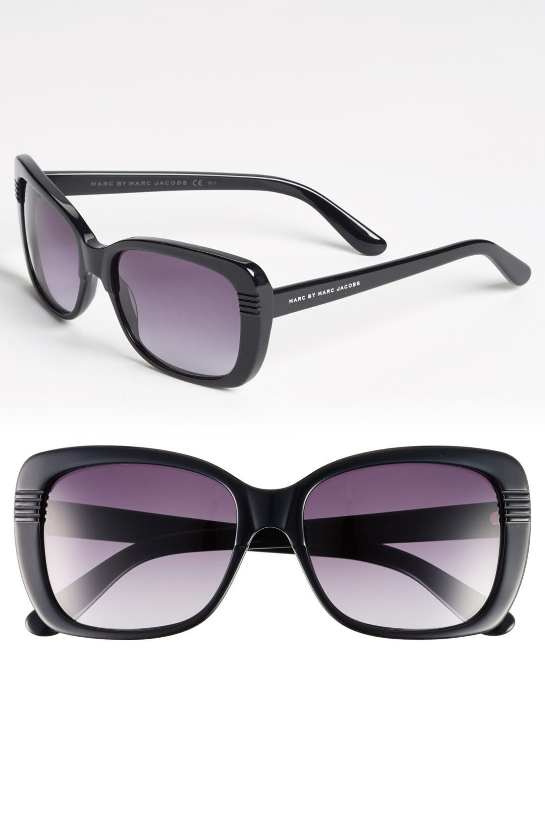 Main Image - MARC BY MARC JACOBS 56mm Sunglasses