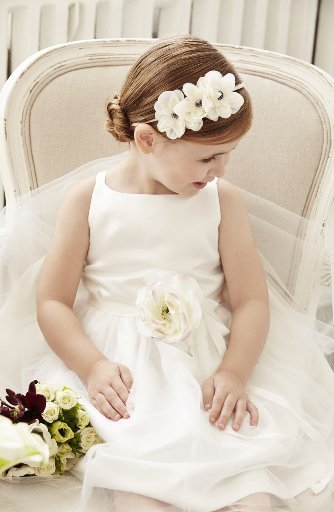 Alternate Image 3  - Us Angels Tulle Ballerina Dress (Toddler Girls, Little Girls & Big Girls)