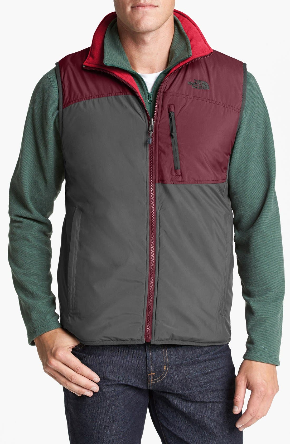 Alternate Image 1 Selected - The North Face 'TKA Trinity' Reversible Vest