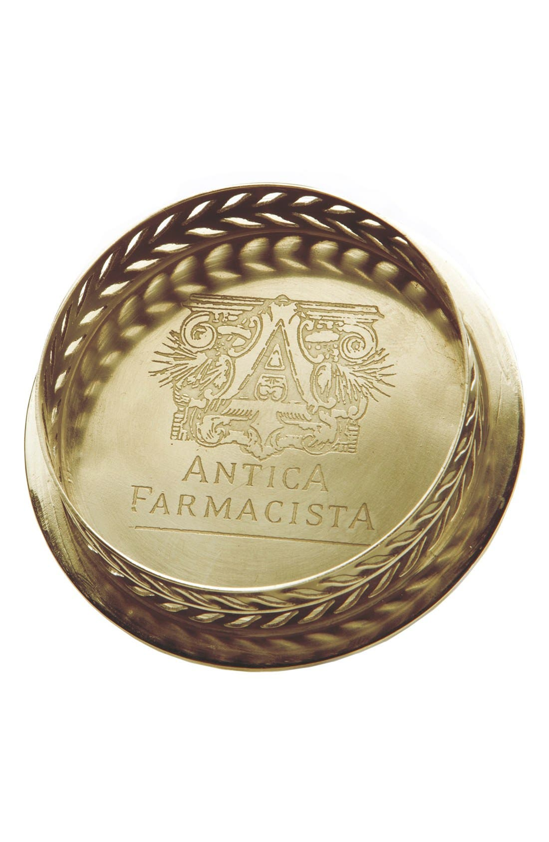 Alternate Image 1 Selected - Antica Farmacista Brass Home Ambiance Diffuser Tray (8.5 oz.)