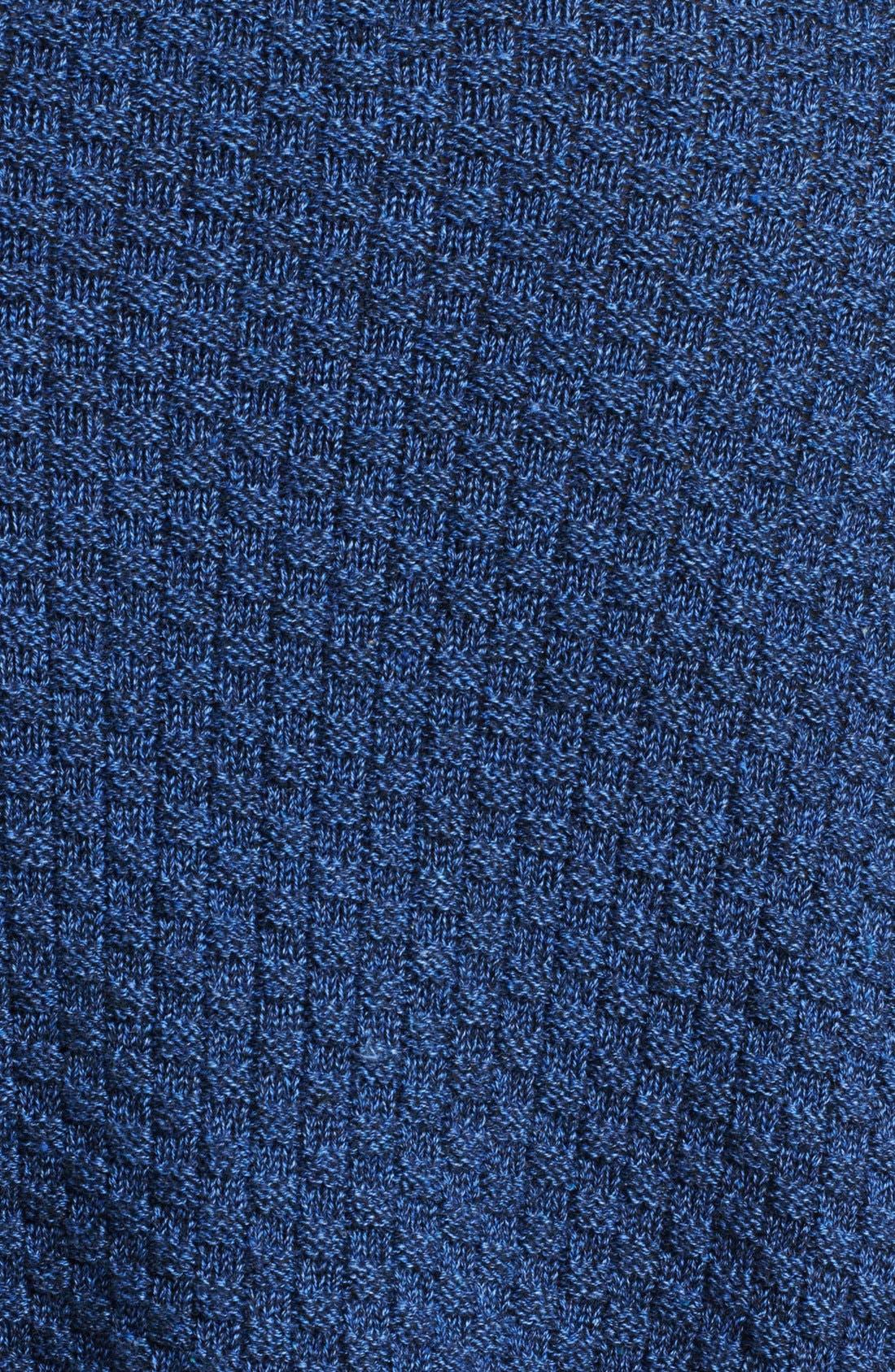 Alternate Image 4  - eskandar Cowl Neck Knit Poncho Cape
