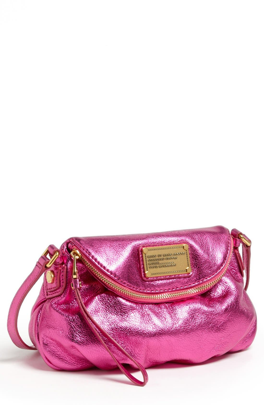 Alternate Image 1 Selected - MARC BY MARC JACOBS 'Classic Q Natasha - Mini' Crossbody Flap Bag
