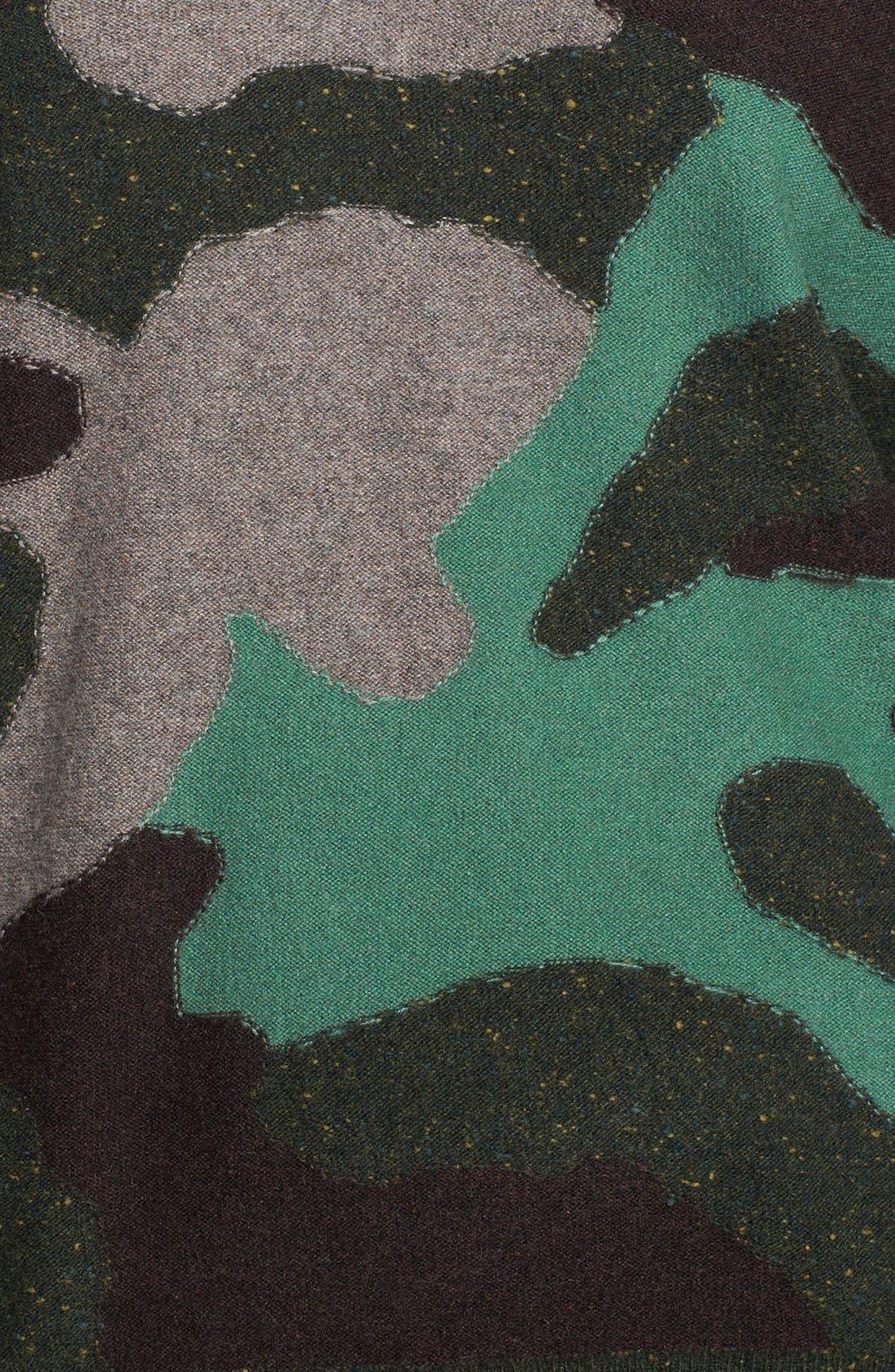 Alternate Image 3  - autumn cashmere Camo Pattern Cashmere Sweater