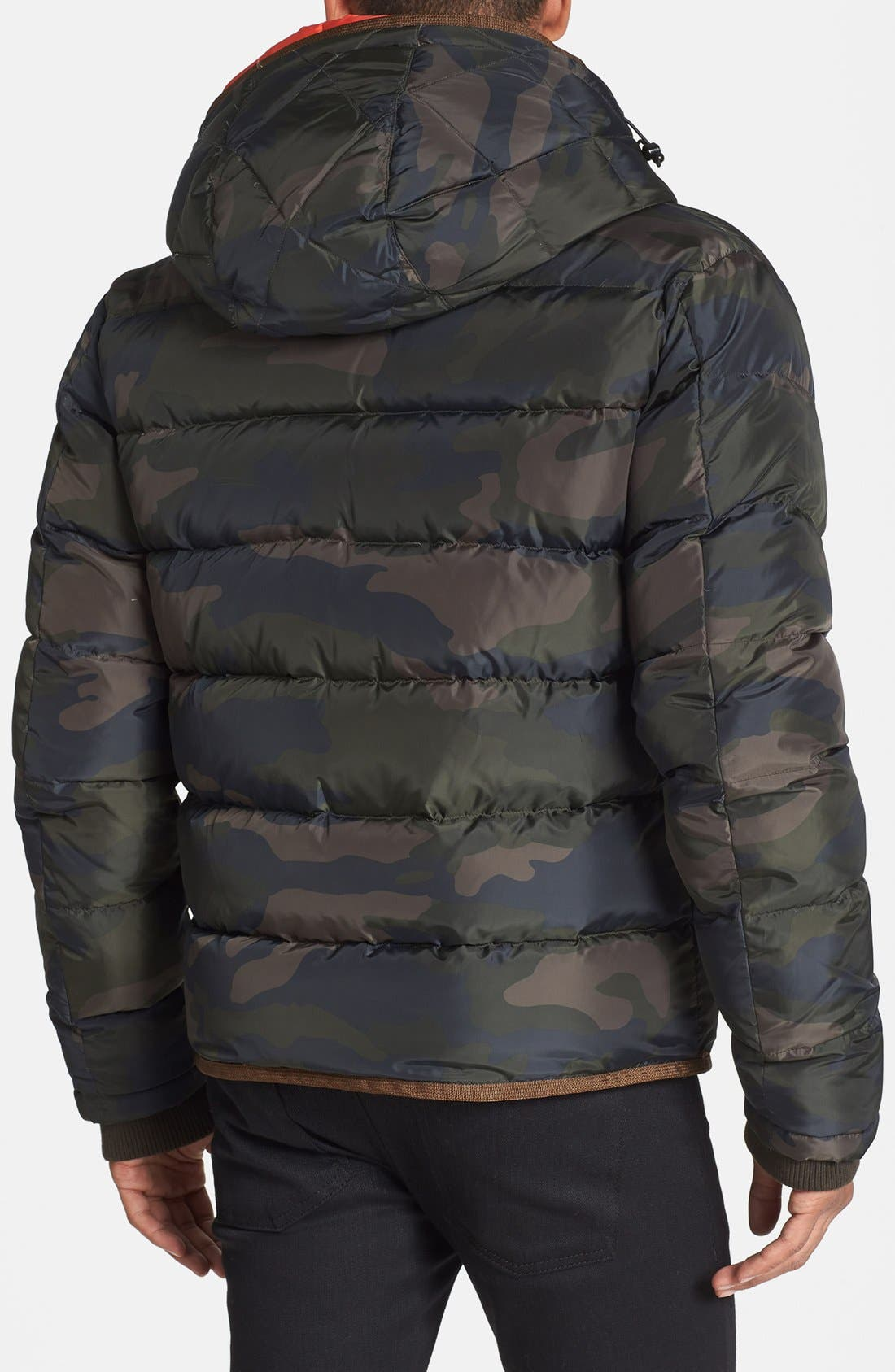 Alternate Image 2  - Scotch & Soda Camo Quilted Down Jacket