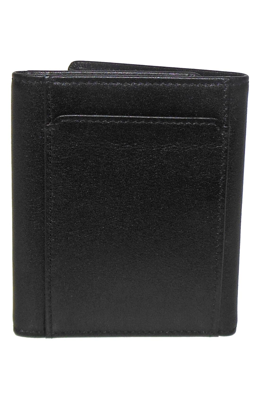 Alternate Image 4  - Boconi 'Grant' RFID Blocker Leather Trifold Wallet
