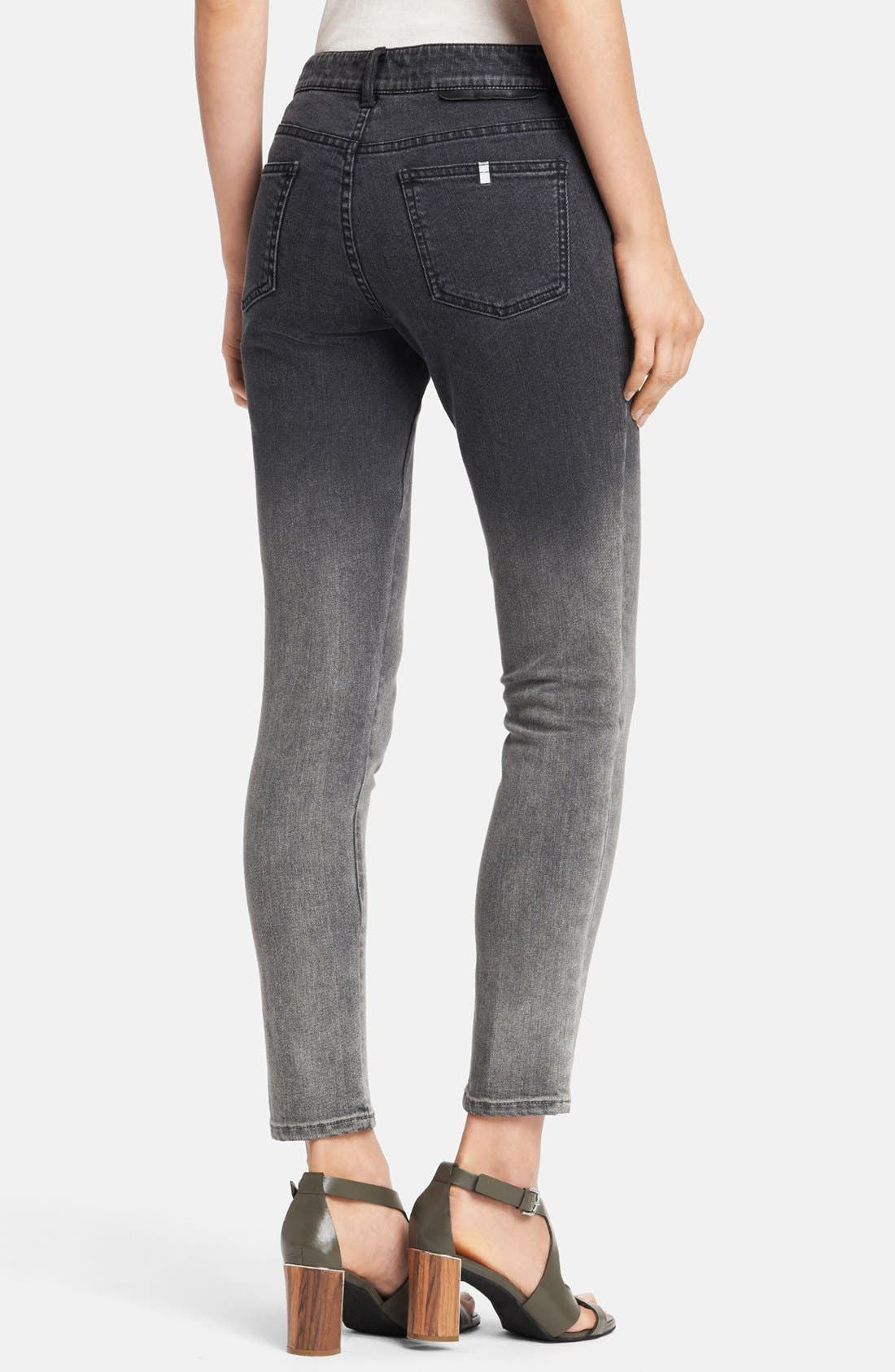 Alternate Image 2  - Stella McCartney 'Simone' Dégradé Skinny Ankle Grazer Jeans