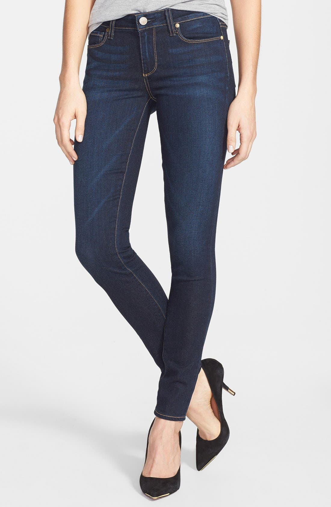 Alternate Image 1 Selected - Paige Denim 'Verdugo' Ultra Skinny Jeans (Surface)