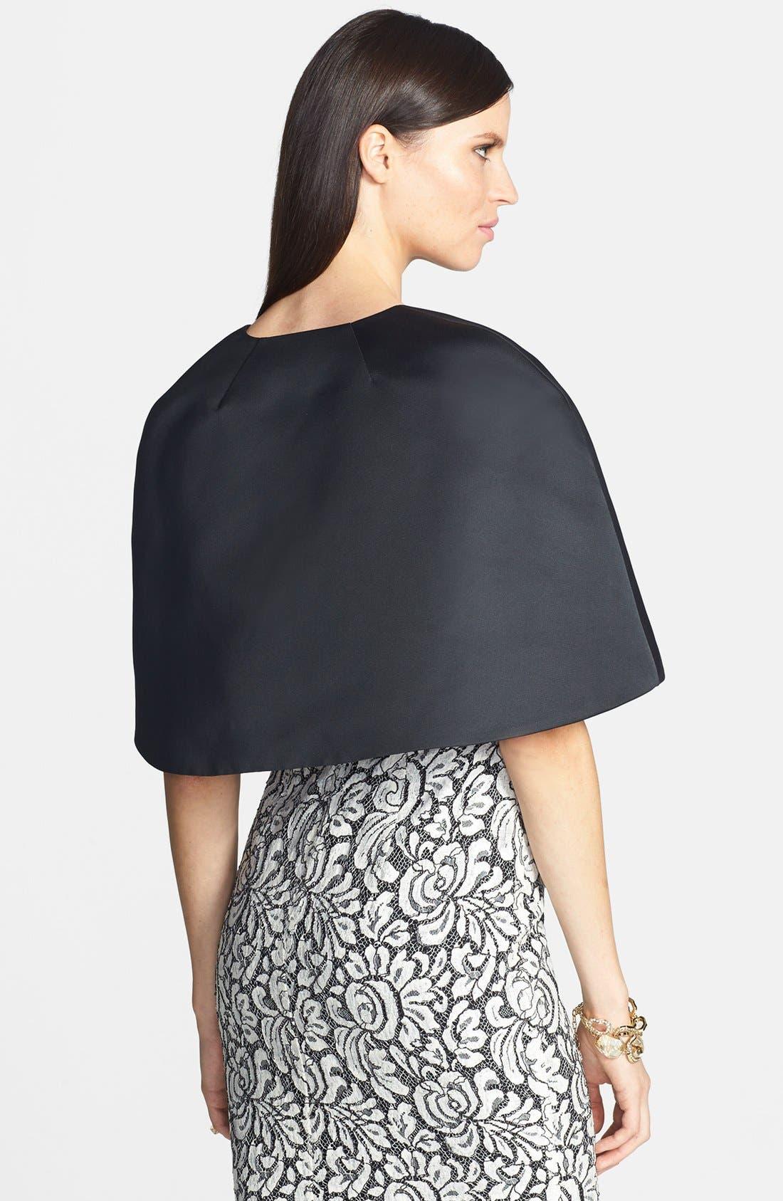 Alternate Image 2  - St. John Collection Duchesse Asymmetrical Wrap