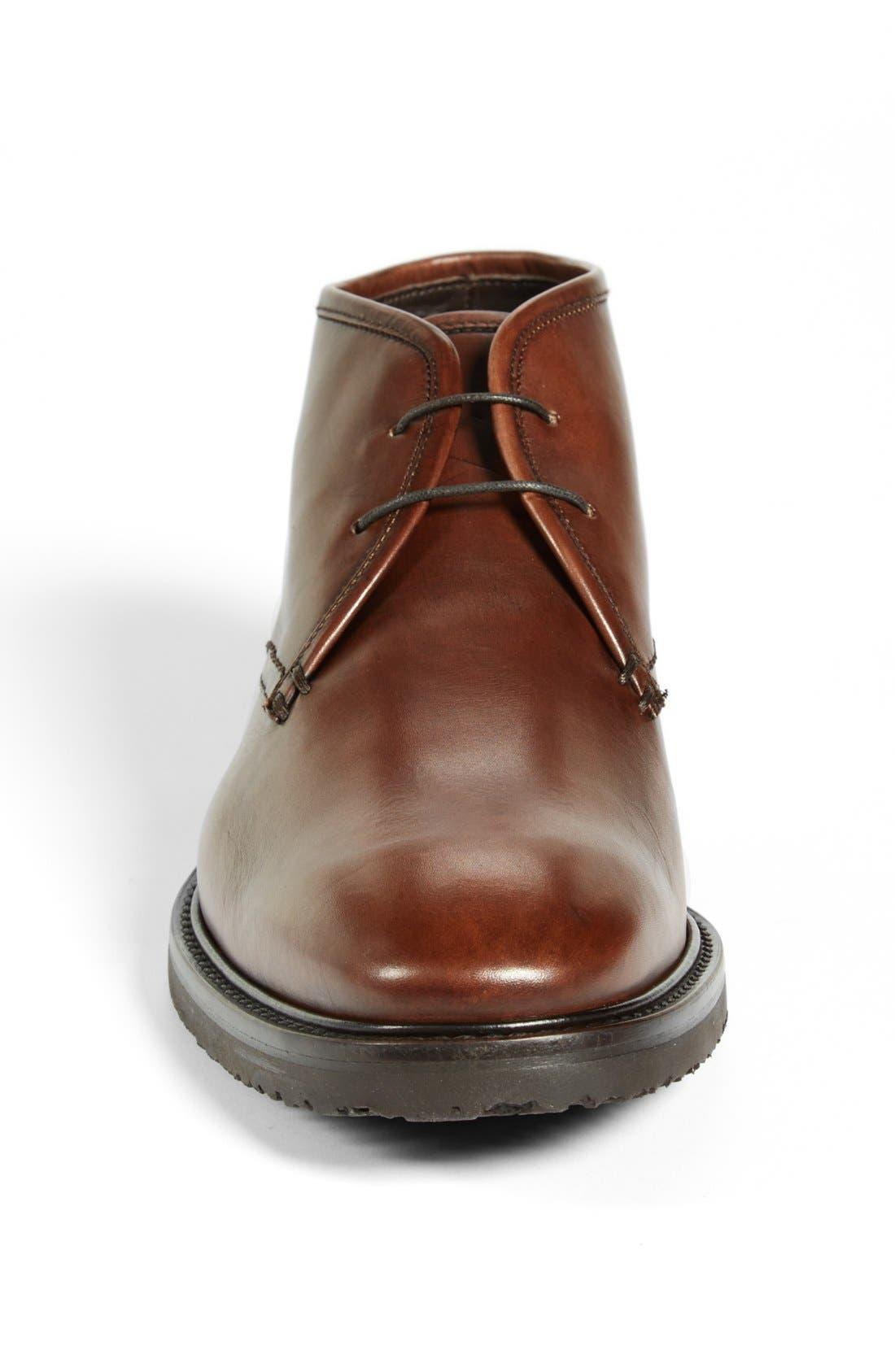 Alternate Image 3  - Ermenegildo Zegna Leather Chukka Boot