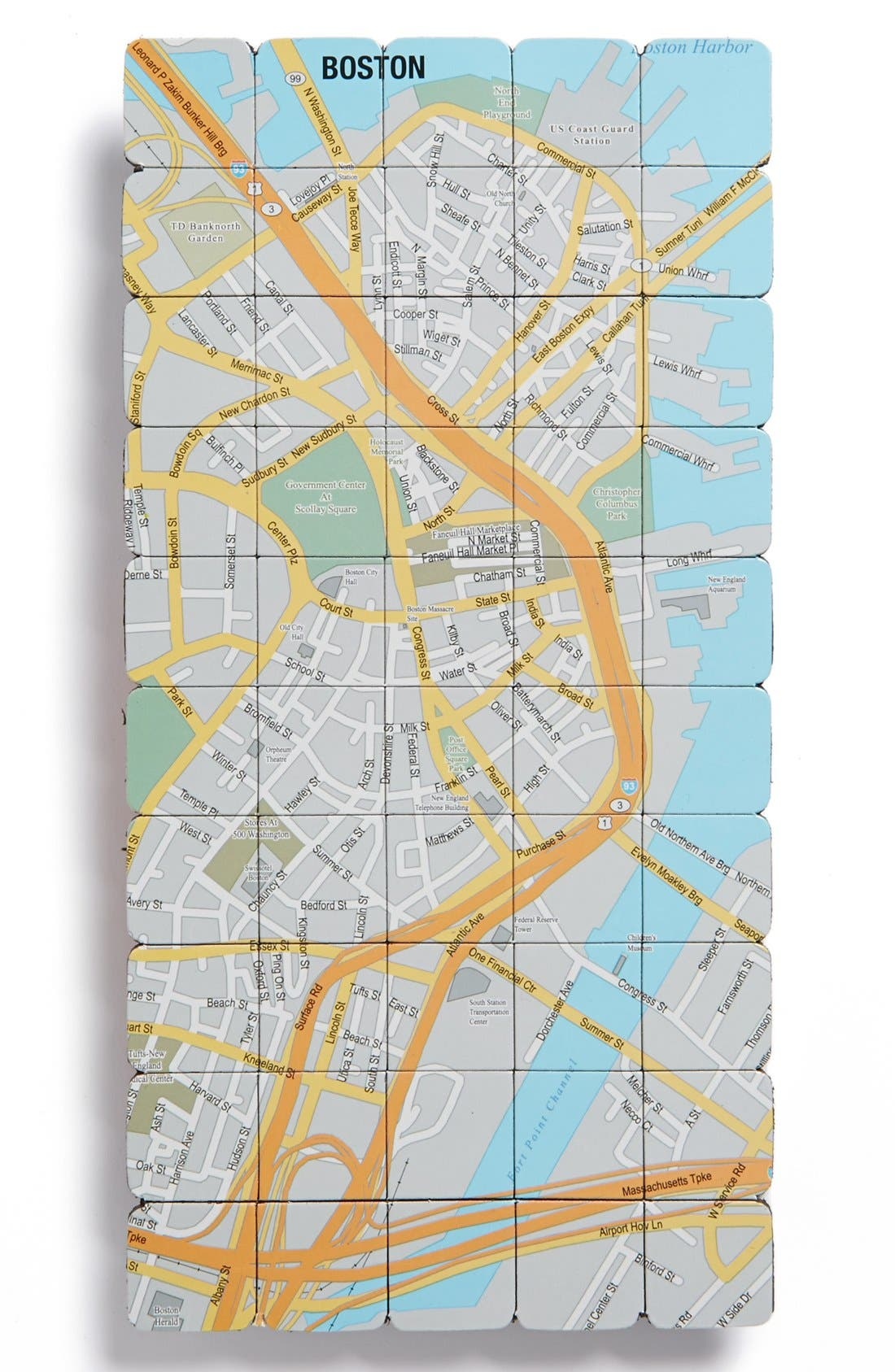 Main Image - Design Ideas Map Magnets (Set of 50)