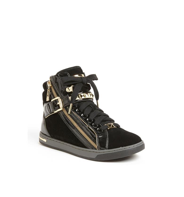 michael michael kors 39 glam 39 studded high top sneaker nordstrom. Black Bedroom Furniture Sets. Home Design Ideas