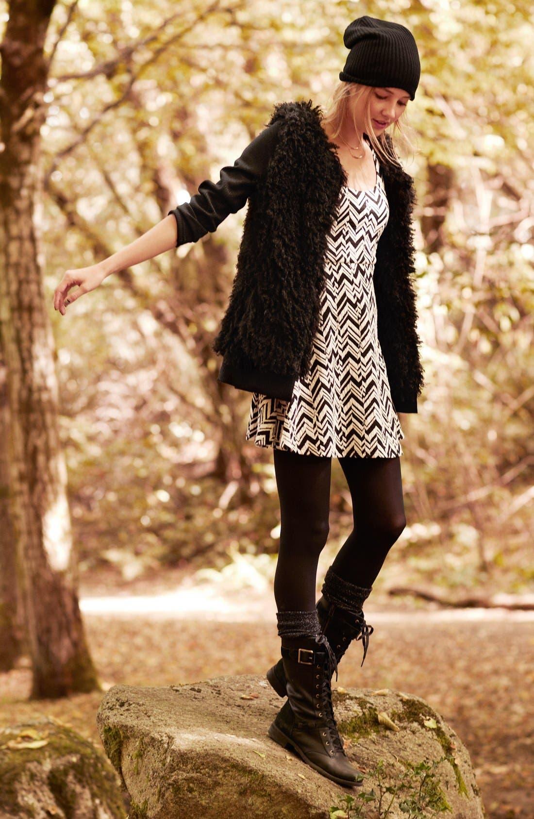 Main Image - Tulle Sweater & dee elle Dress