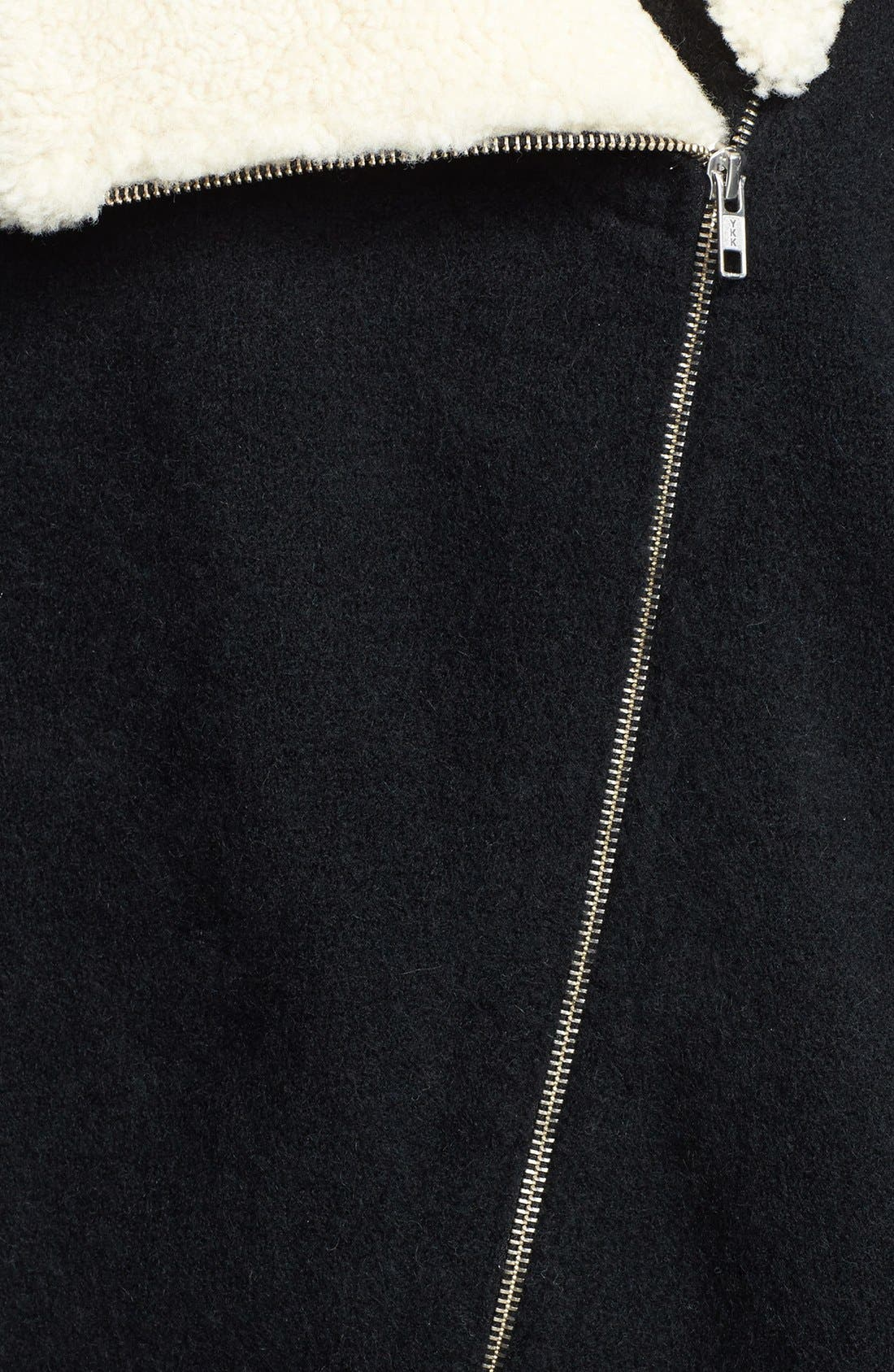 Alternate Image 3  - Theory 'Hex' Genuine Shearling Collar Jacket