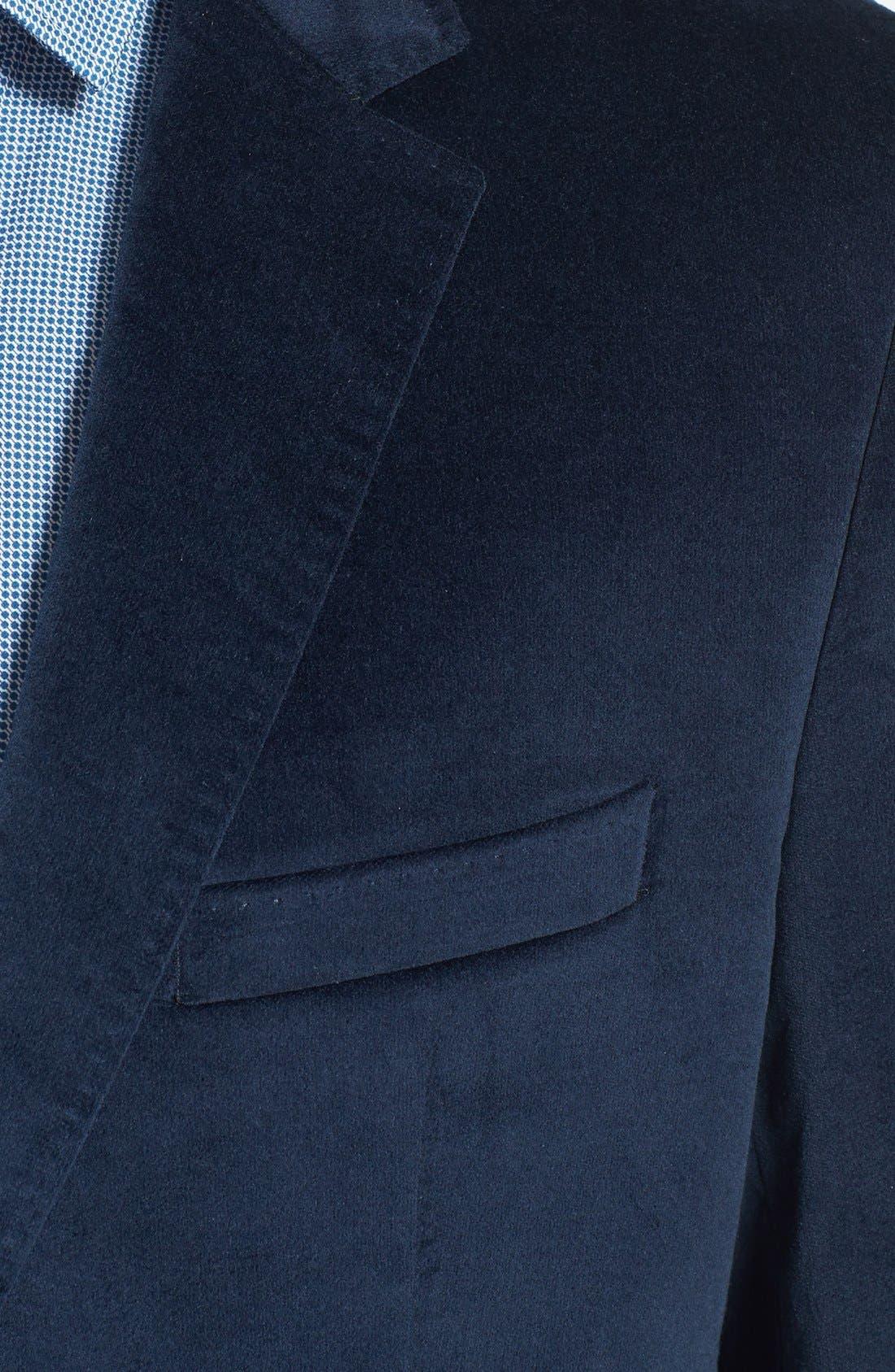 Alternate Image 3  - BOSS HUGO BOSS 'The Coast Us' Stretch Cotton Sportcoat