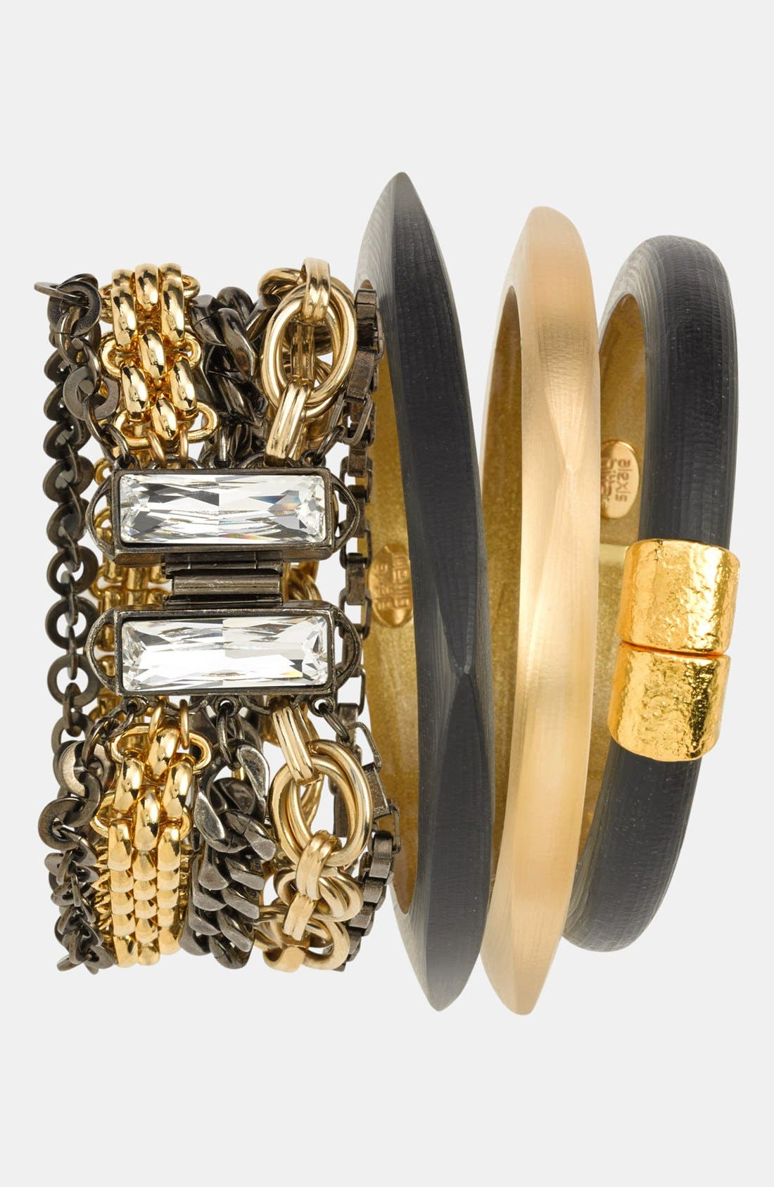 Alternate Image 4  - Alexis Bittar 'Lucite®' Skinny Square Bangle