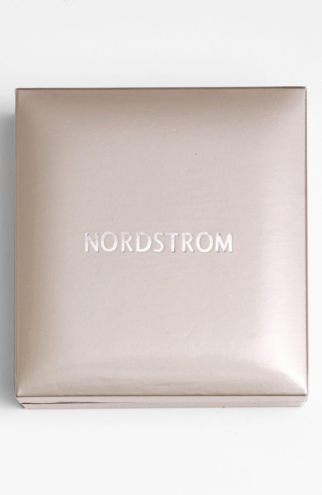 Alternate Image 6  - Nordstrom Precious Metal Plated 1ct tw Cubic Zirconia Earrings
