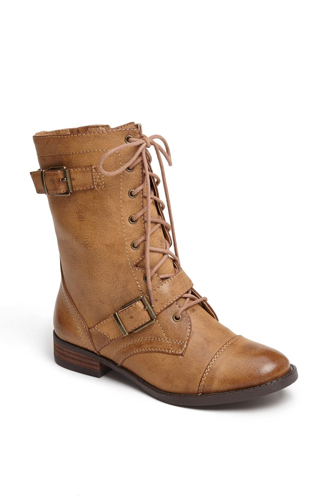 Main Image - Sole Society 'Nessie' Lace-Up Bootie