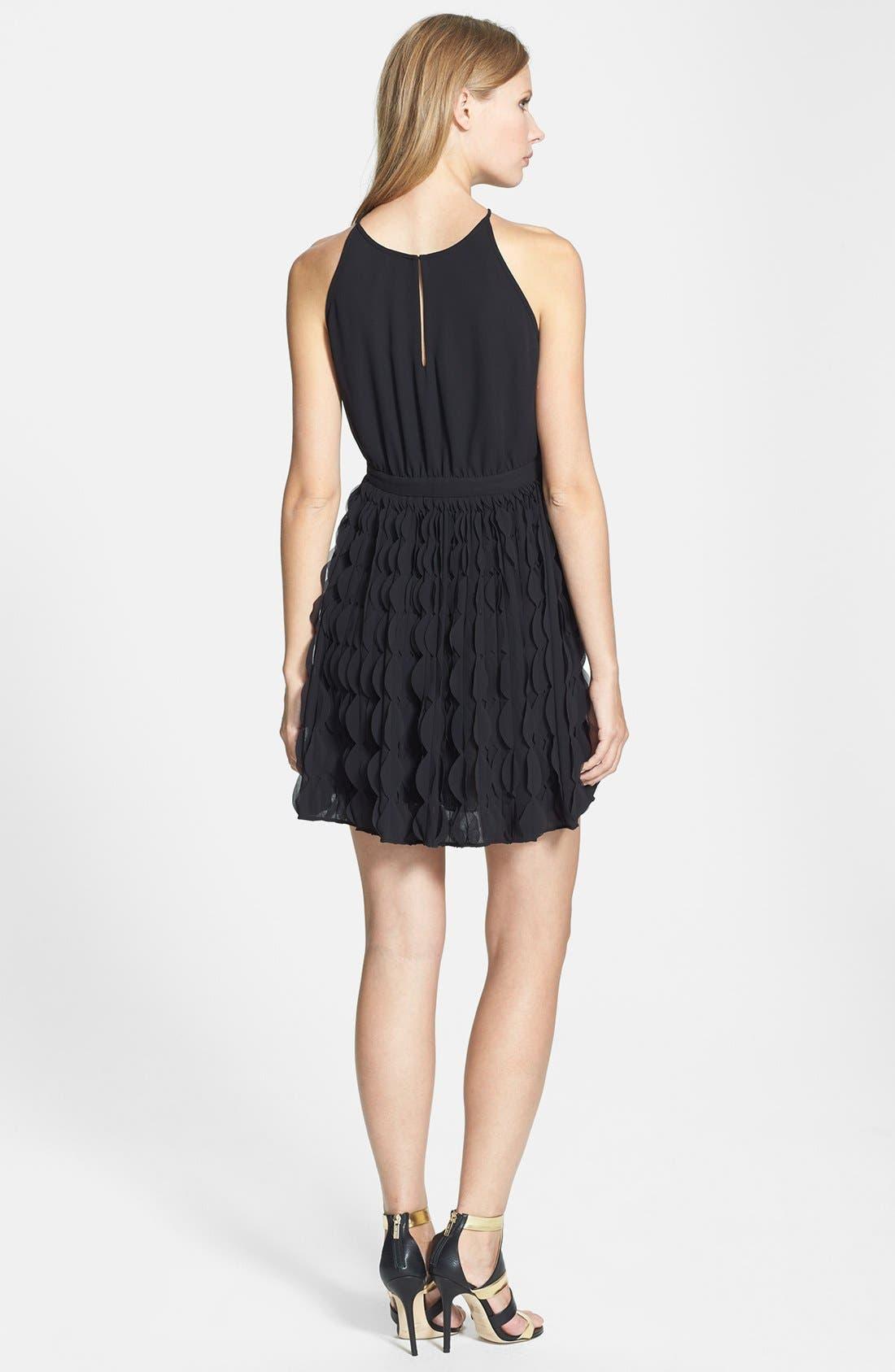 Alternate Image 2  - Diane von Furstenberg 'Gia' Ruffle Skirt Fit & Flare Dress