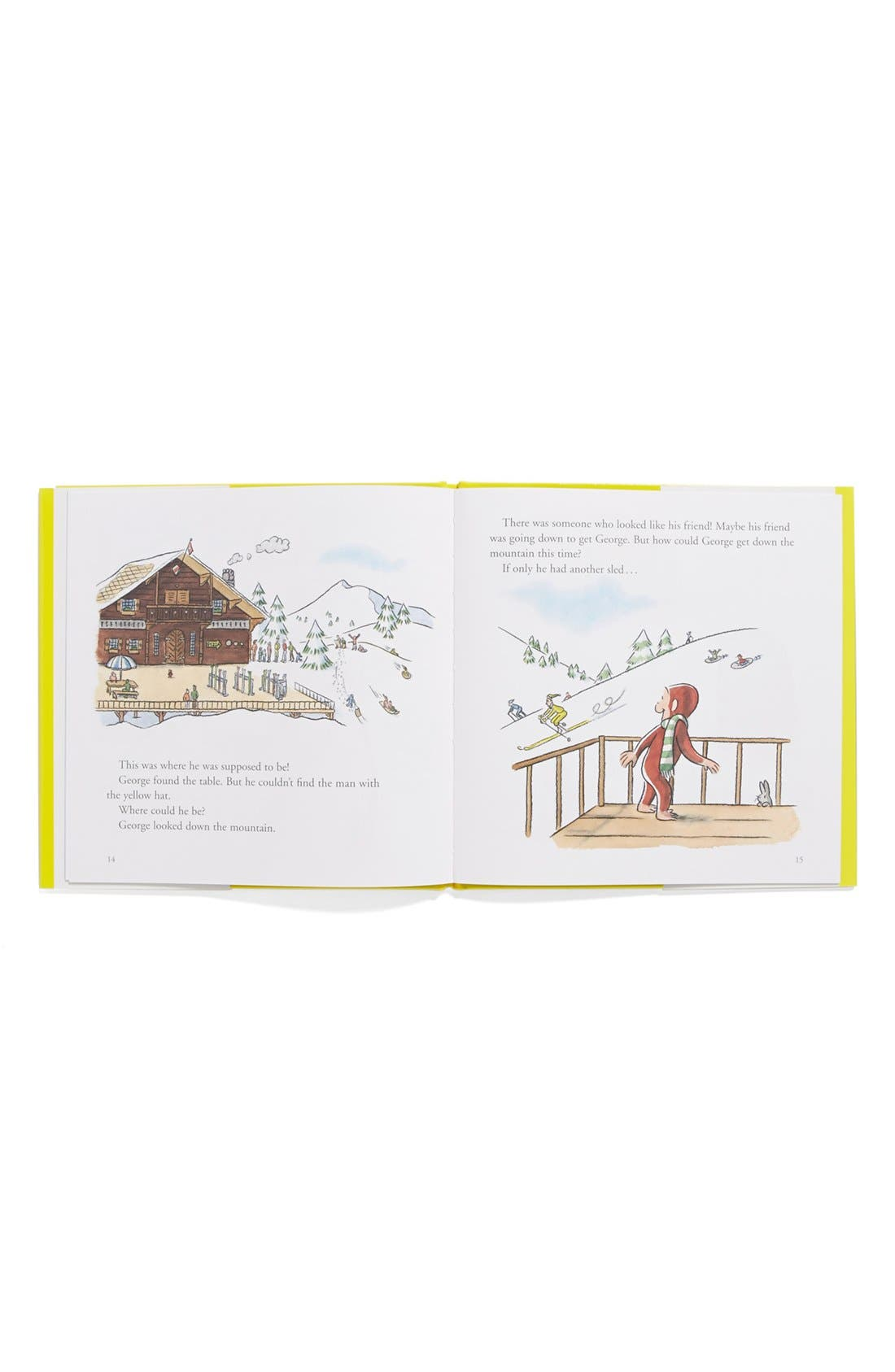 Alternate Image 2  - Margret & H.A. Rey's 'Curious George in the Snow' Book