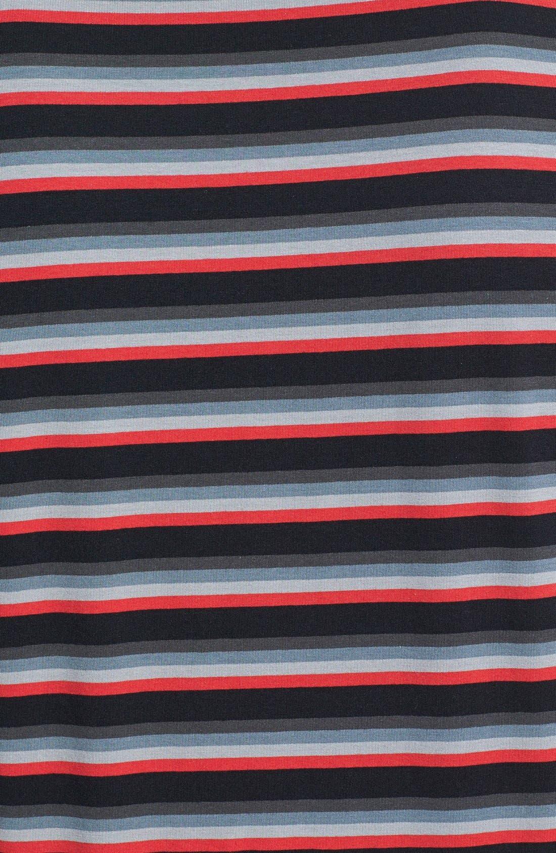 Alternate Image 3  - DIESEL® 'Michael' Striped V-Neck Undershirt