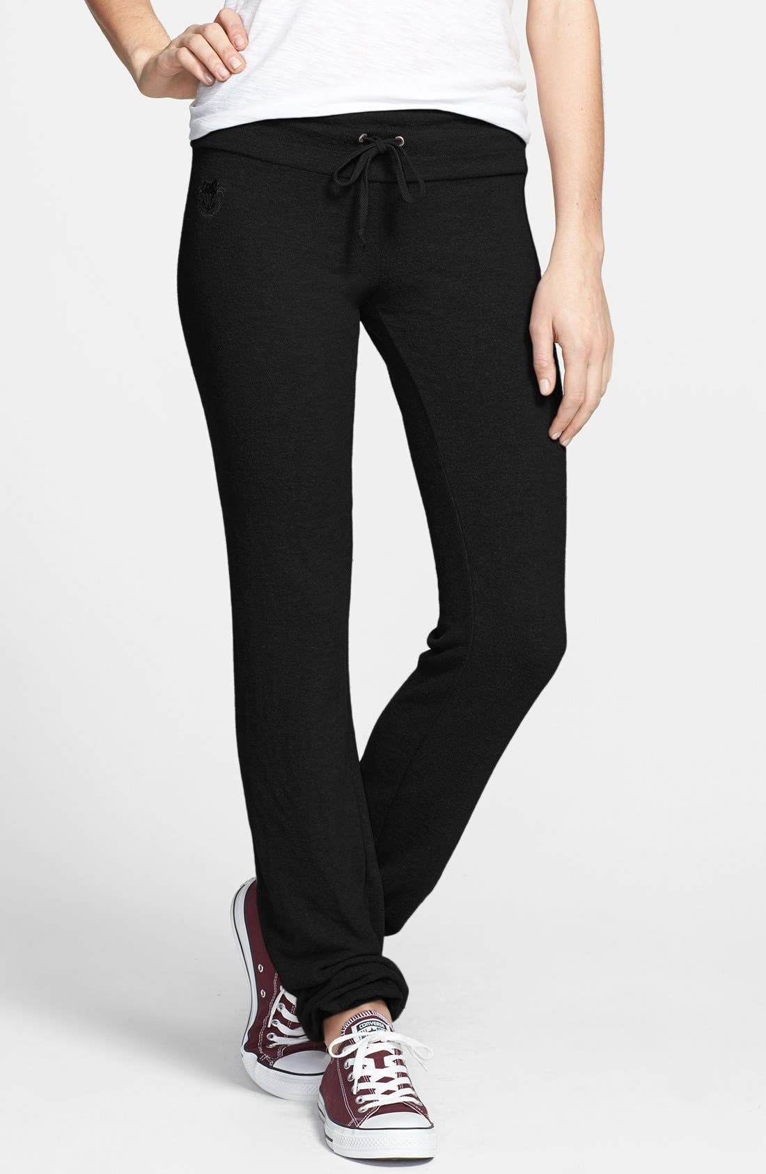 Main Image - Wildfox 'Basics - Malibu' Skinny Jogging Pants