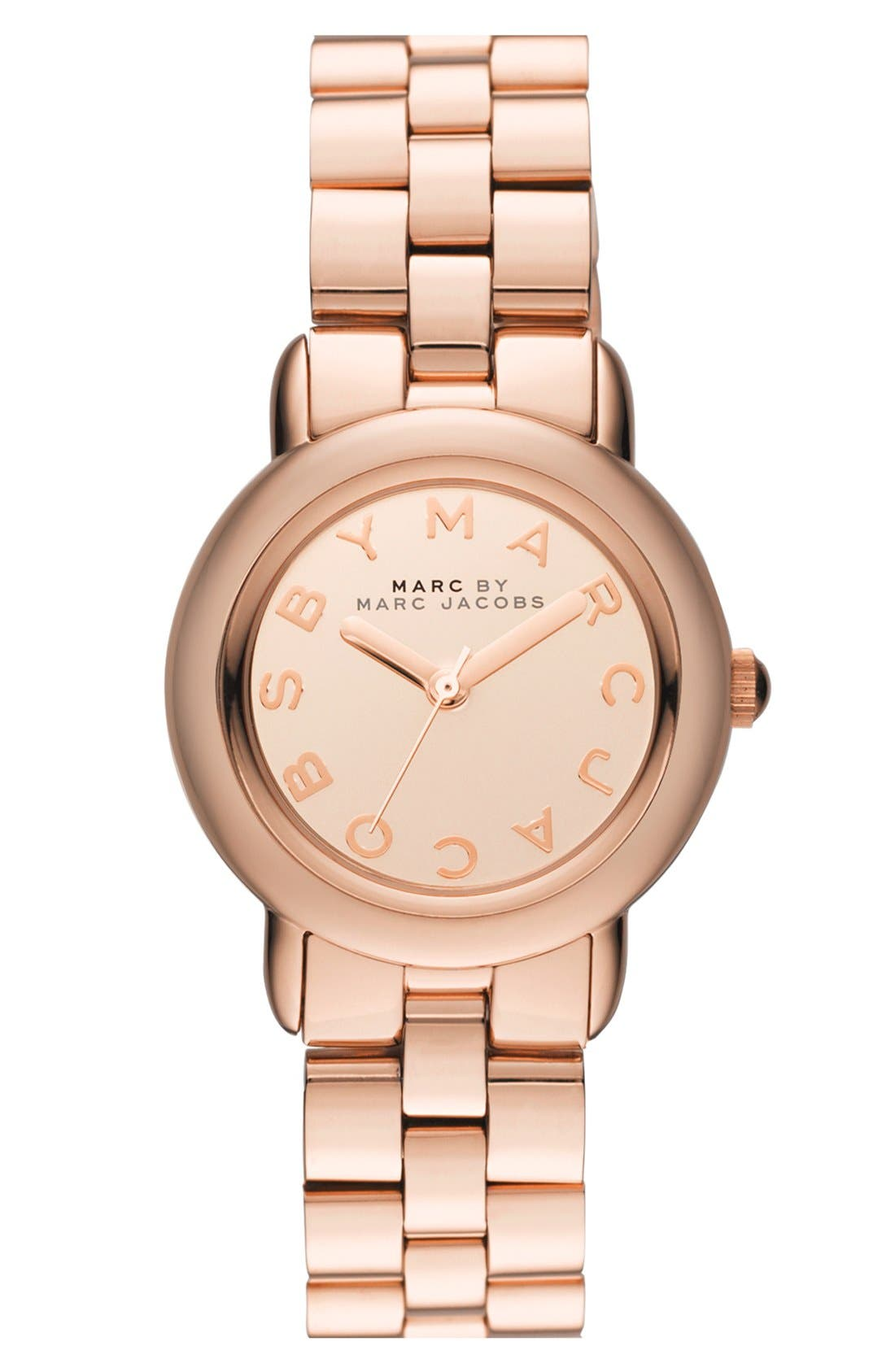 Main Image - MARC BY MARC JACOBS 'Marci' Small Bracelet Watch, 30mm