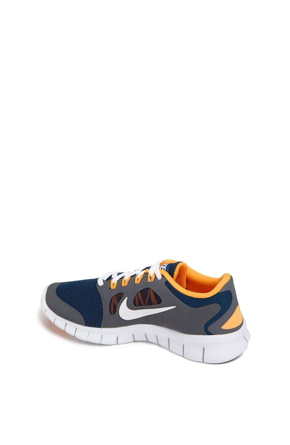Alternate Image 2  - Nike 'Free Run 5.0' Running Shoe (Big Kid)