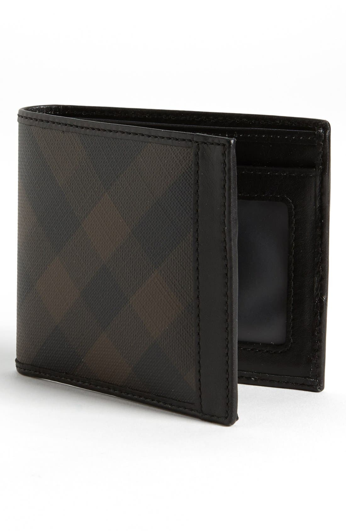 Alternate Image 1 Selected - Burberry Brit Check Print Billfold