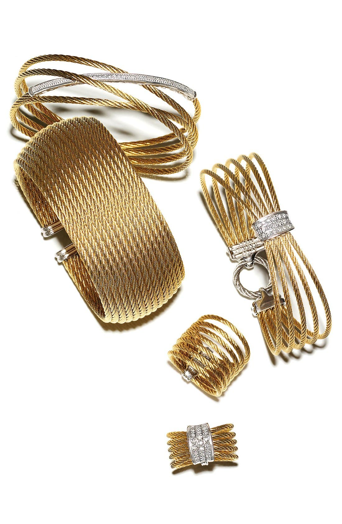 Alternate Image 3  - ALOR® 5-Row Diamond Ring