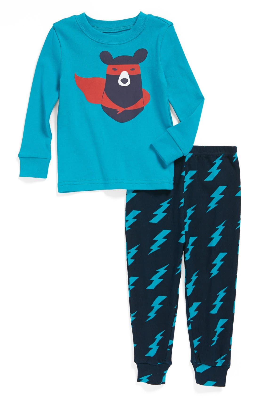 Alternate Image 1 Selected - Tucker + Tate Two-Piece Fitted Pajamas (Toddler Boys)