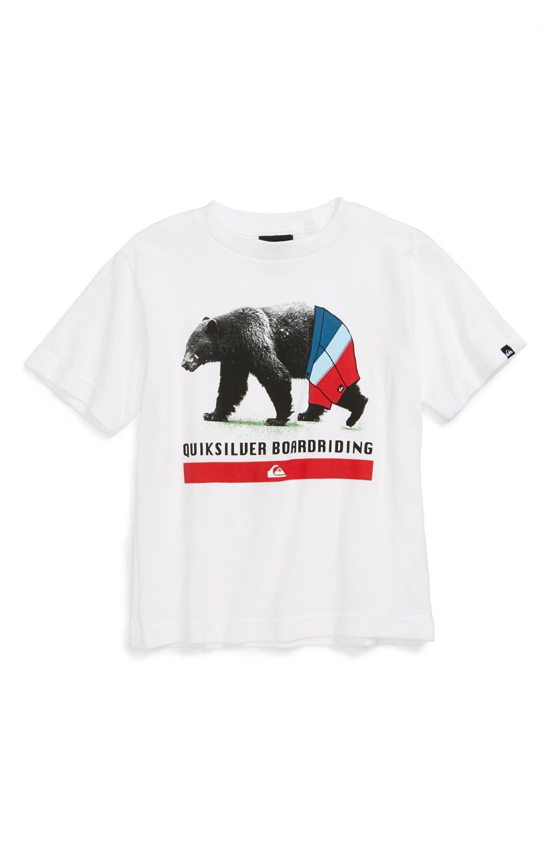 Alternate Image 1 Selected - Quiksilver 'Cali' T-Shirt (Baby Boys)