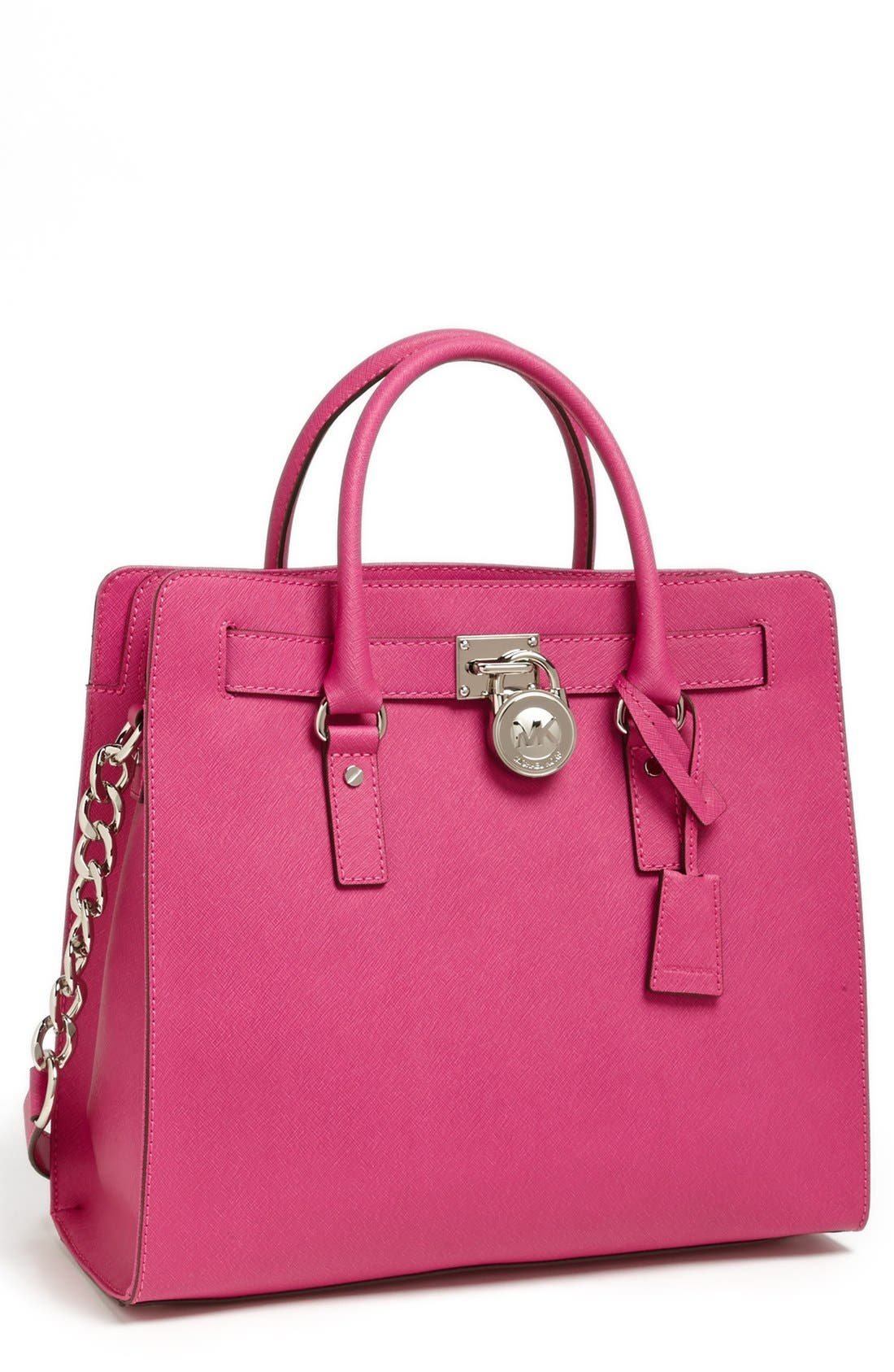 Alternate Image 1 Selected - MICHAEL Michael Kors 'Large Hamilton' Saffiano Leather Tote