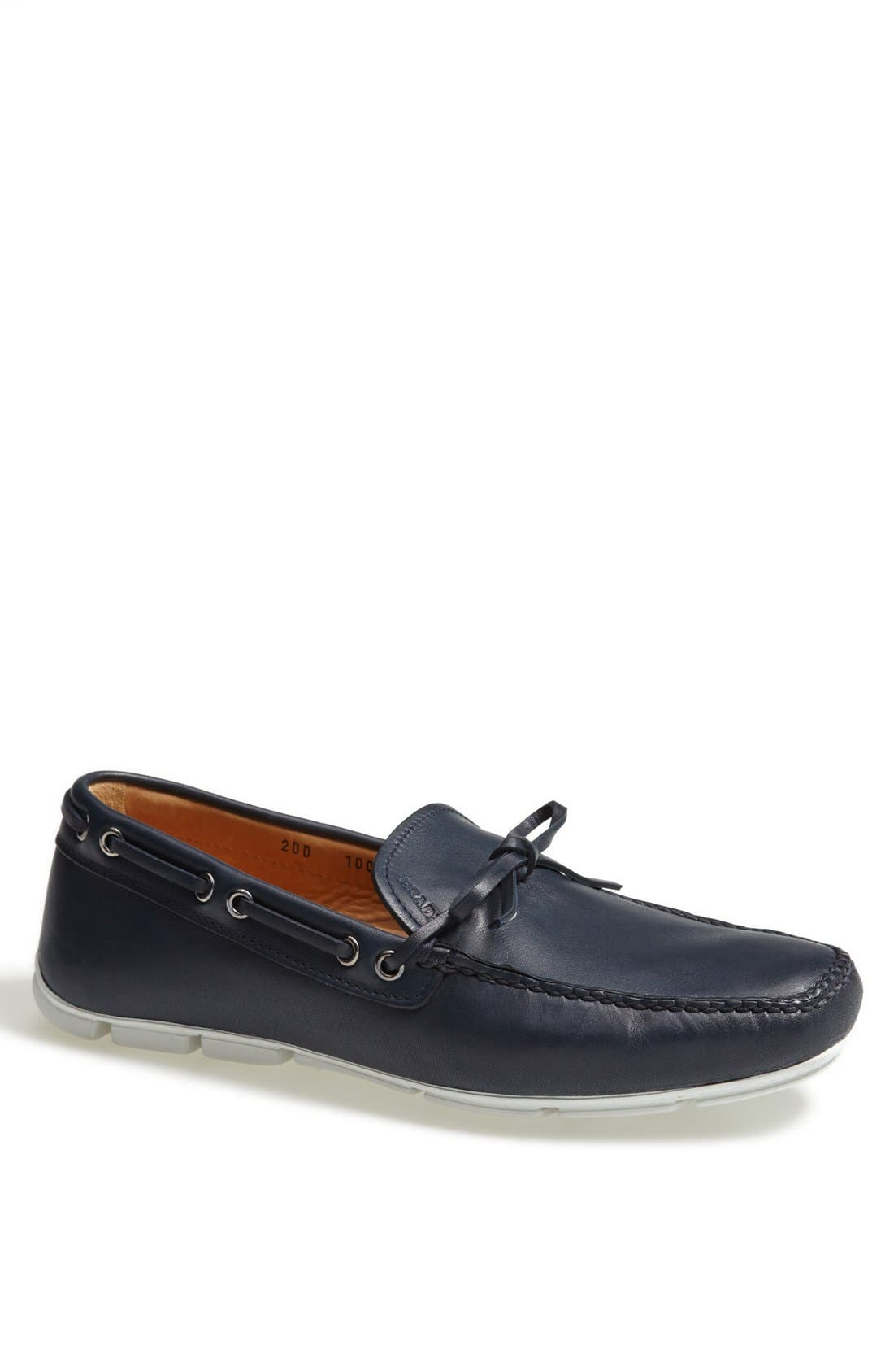Alternate Image 1 Selected - Prada Leather Driving Shoe