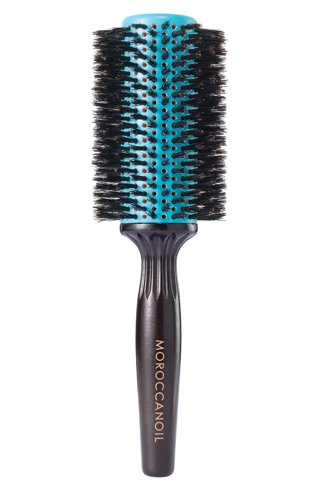 MOROCCANOIL® Ceramic Barrel Boar Bristle Round Brush for Medium to Long Length Hair