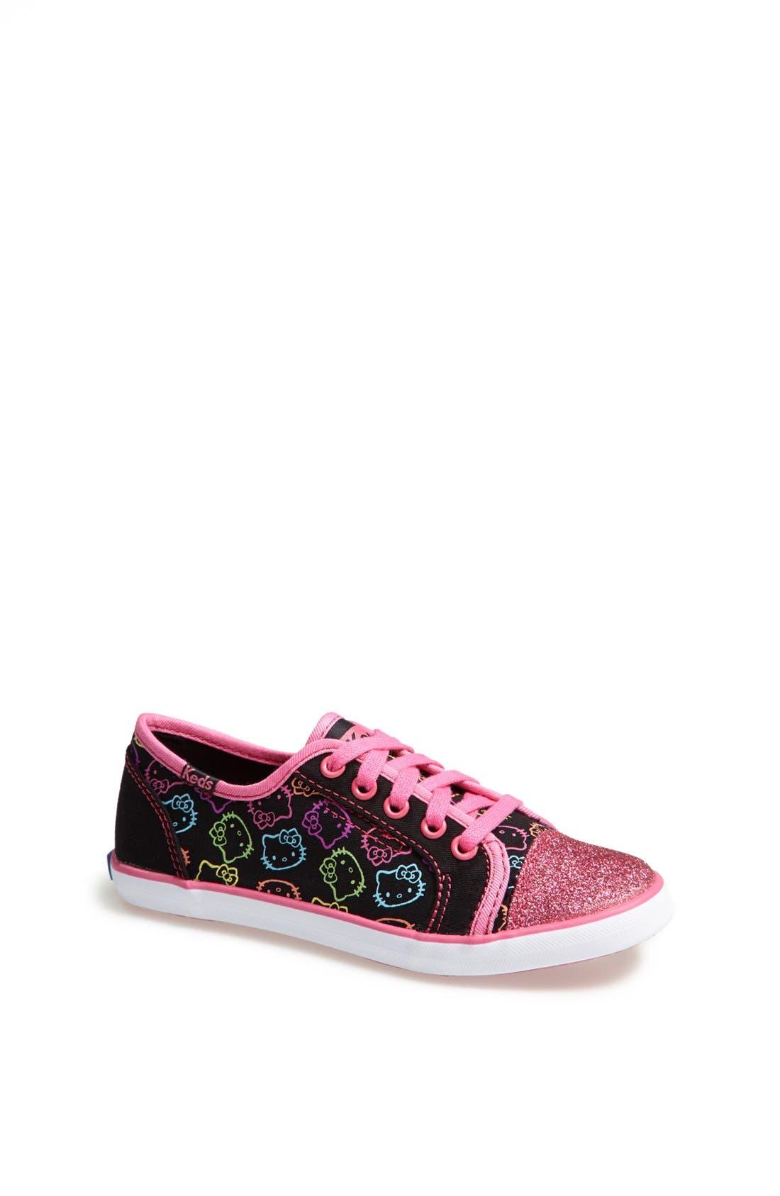 Alternate Image 1 Selected - Keds 'Hello Kitty® - Rally' Sneaker (Toddler, Little Kid & Big Kid)