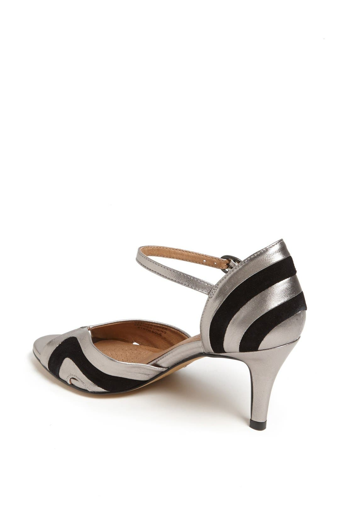 Alternate Image 2  - Corso Como 'Jesuit' Peep Toe Leather Pump