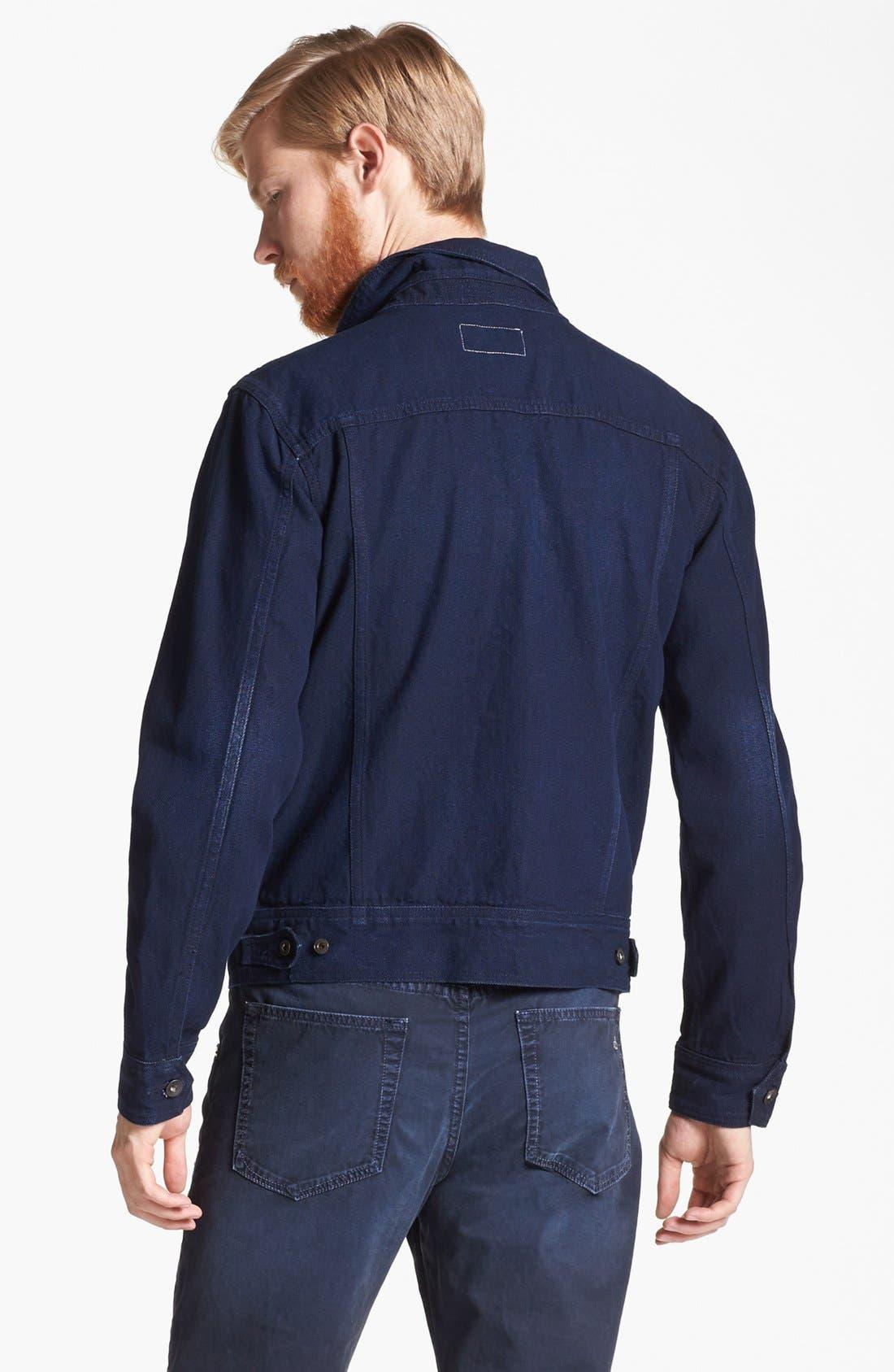 Alternate Image 2  - rag & bone Denim Jacket