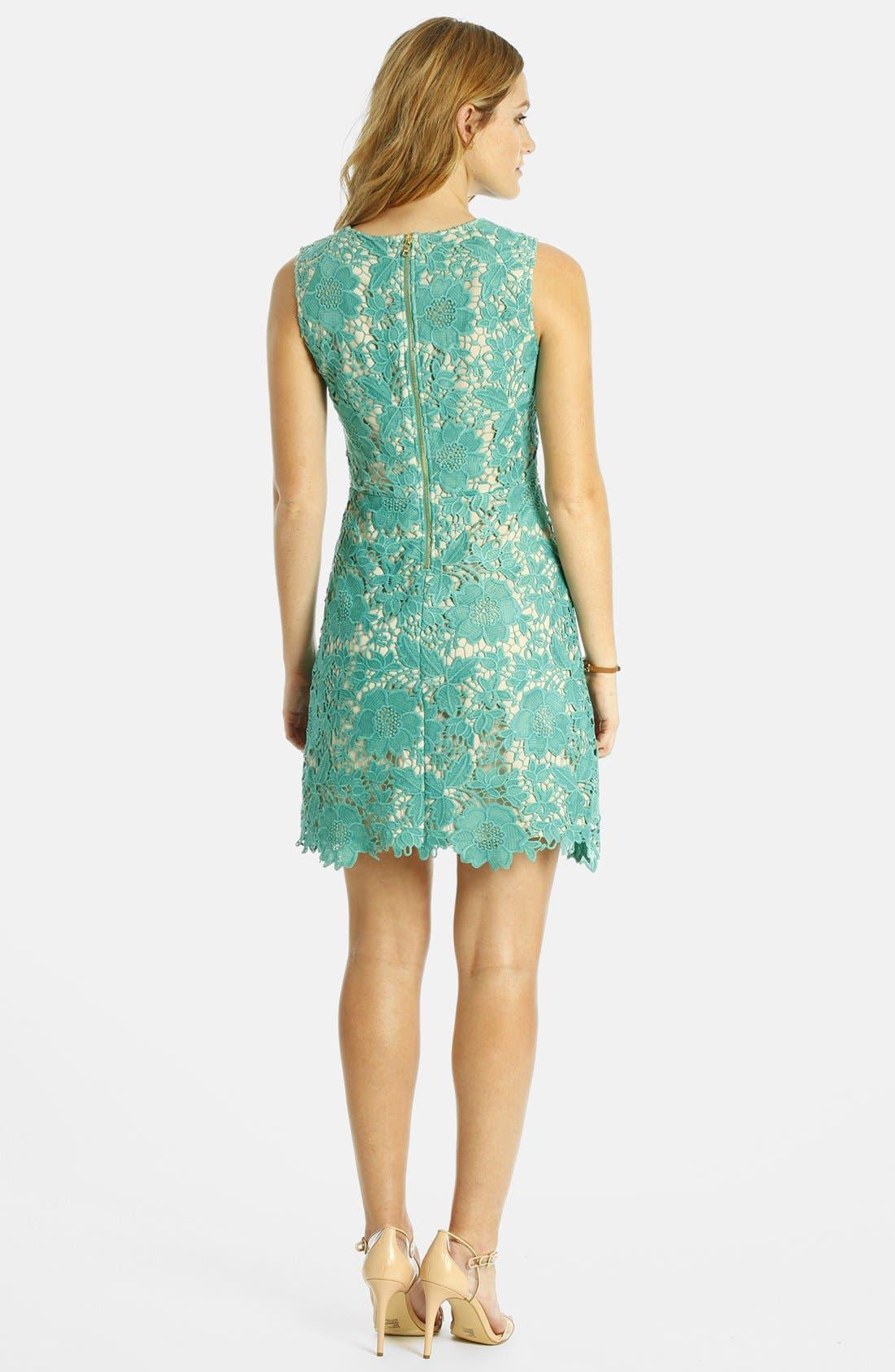 Alternate Image 2  - LABEL by five twelve Lace A-Line Dress