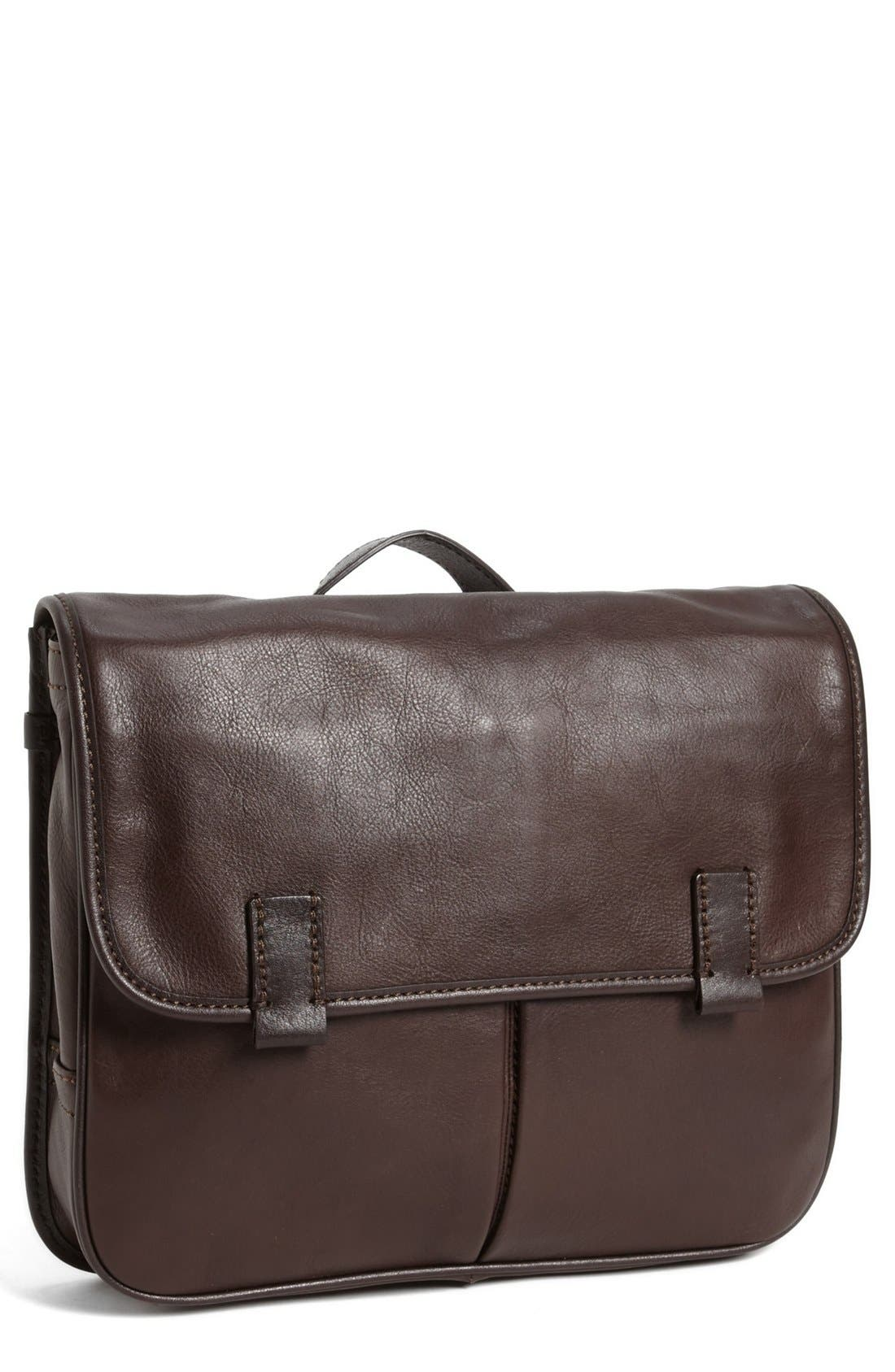 Main Image - Fossil 'Mercer EW' Leather City Bag