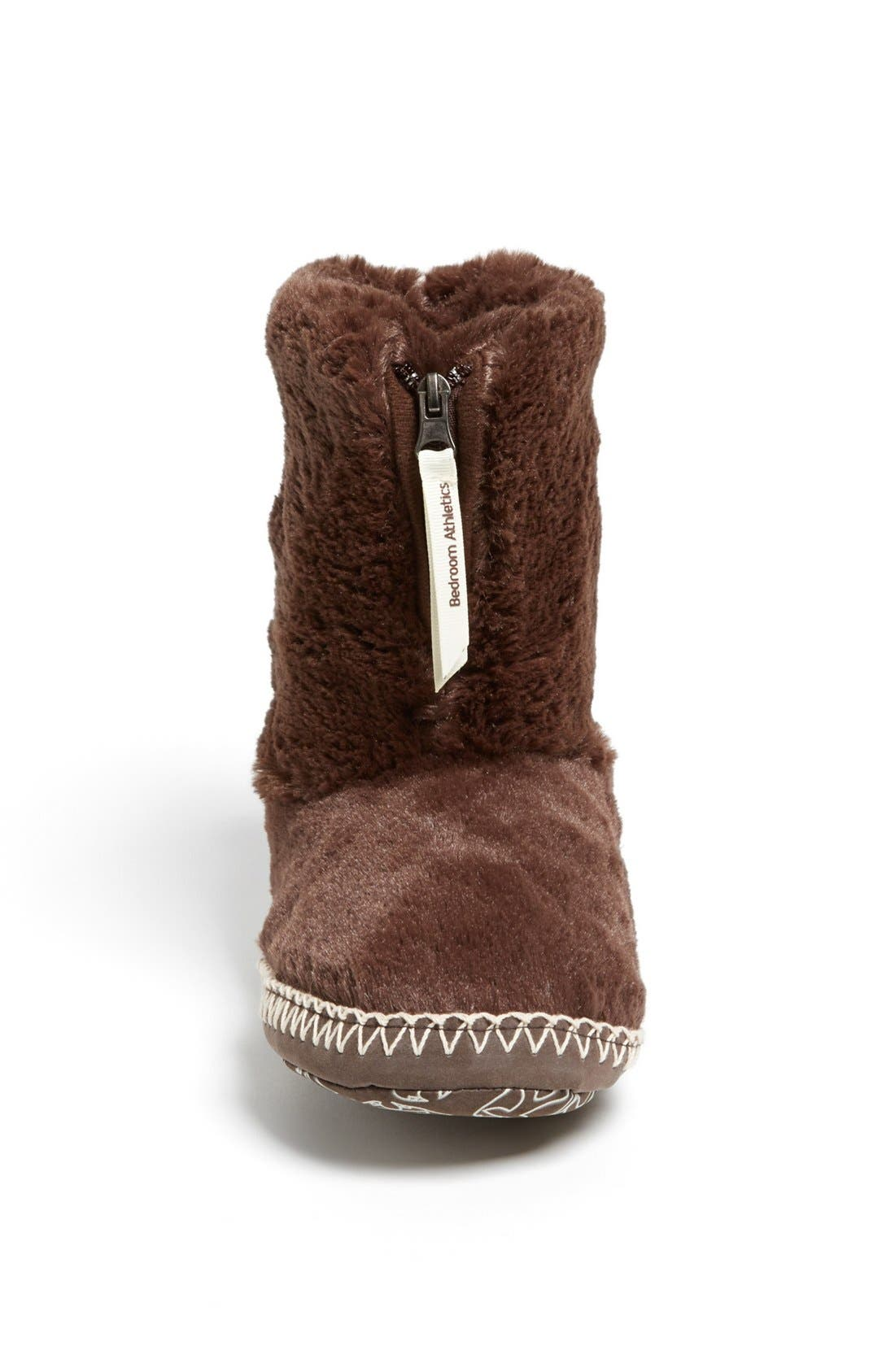 Alternate Image 3  - Bedroom Athletics 'Marilyn' Faux Fur Bootie Slipper