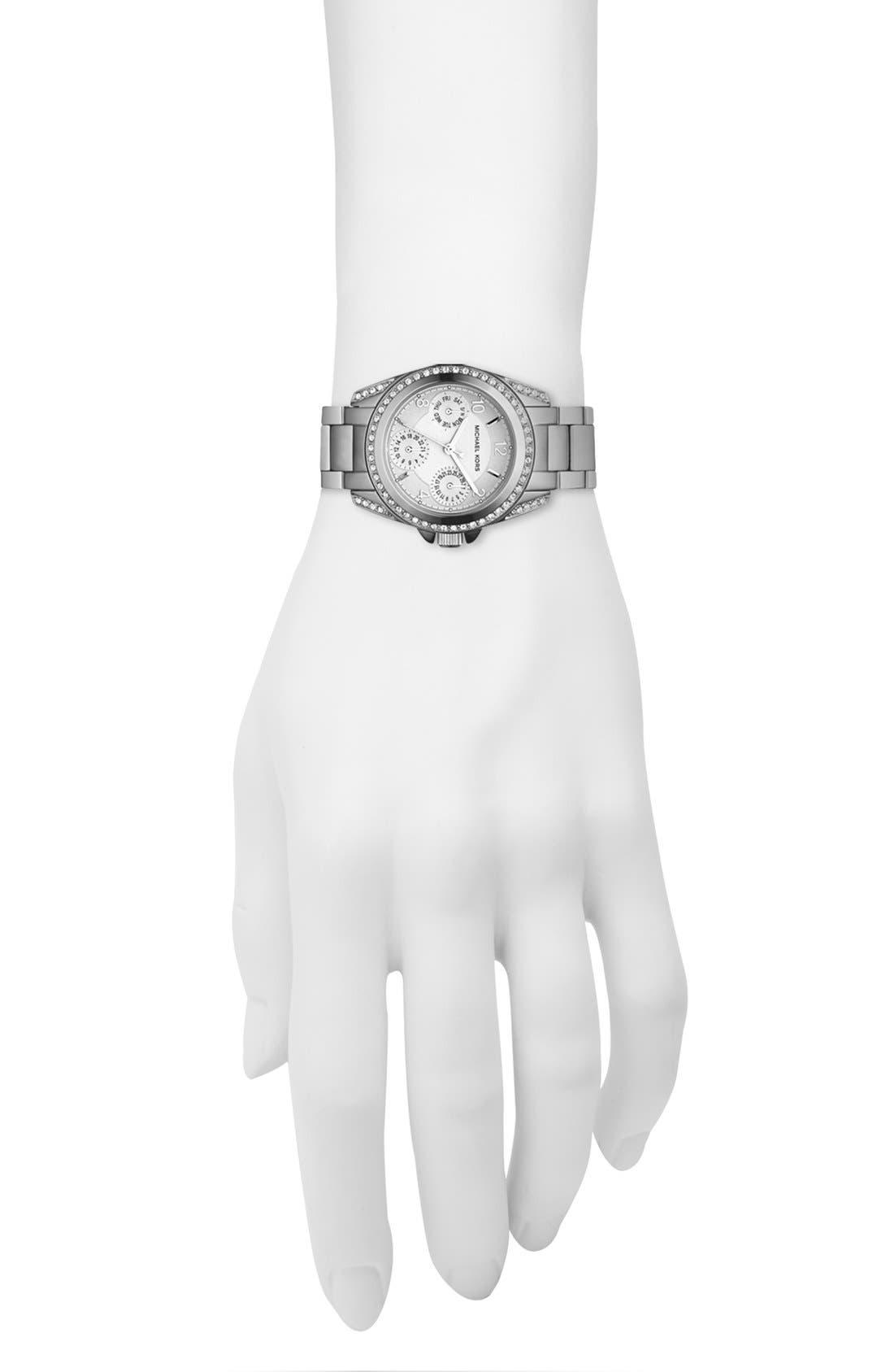 Alternate Image 4  - Michael Kors 'Blair - Mini' Multifunction Watch, 33mm